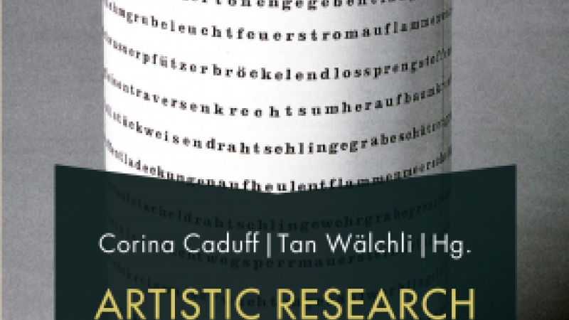 Artistic Research and Literature book cover